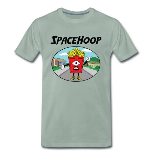 SpaceHoop - Monday Fries - T-shirt Premium Homme