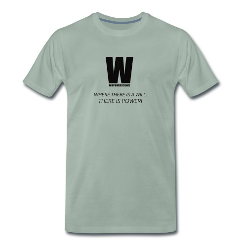 Willpower Science - Men's Premium T-Shirt