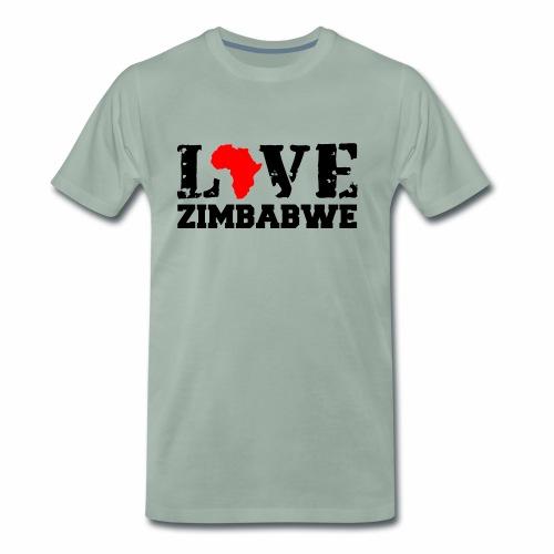 love zimbabwe - Men's Premium T-Shirt