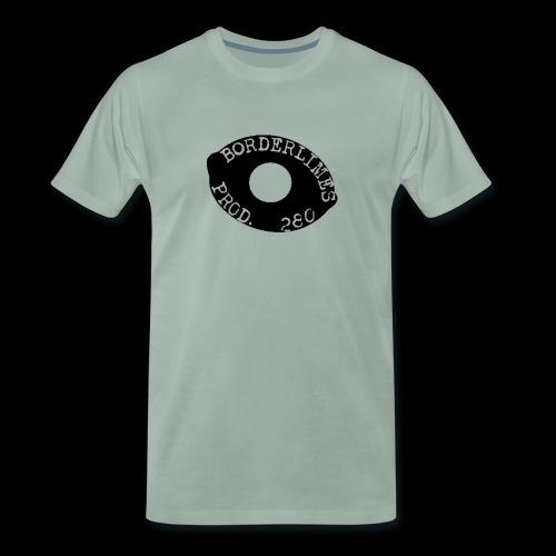 Borderlimes Logo Black - T-shirt Premium Homme