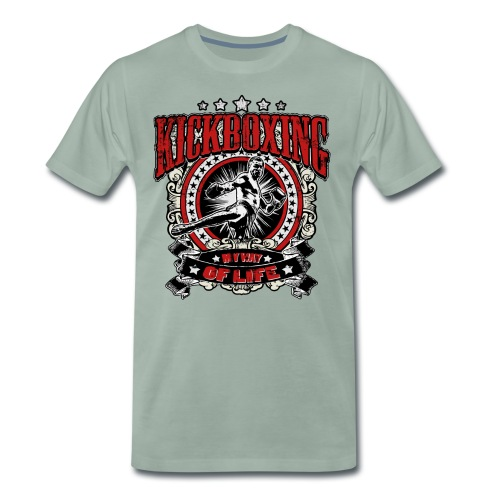 Kickboxing - My Way Of Life - Männer Premium T-Shirt