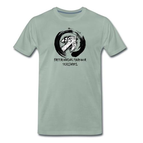 Freerunning Parkour Schijndel Logo - Mannen Premium T-shirt