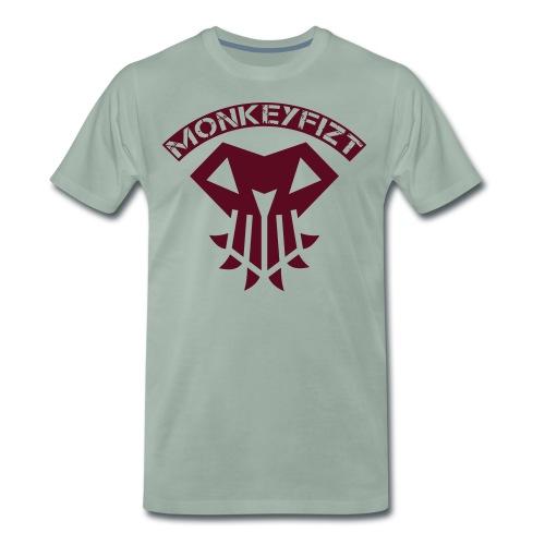 MonkeyFizt Logo - Männer Premium T-Shirt