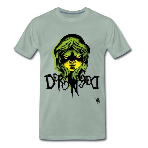 DerangeD - Tattoo Metal Horror Vampire - Herre premium T-shirt