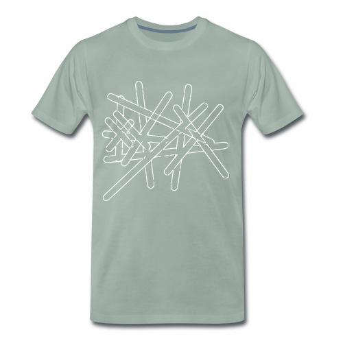Striche - Männer Premium T-Shirt