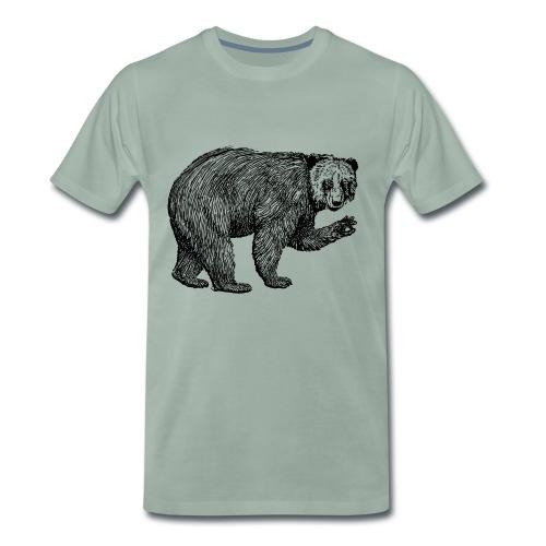 Bear Bamboozle - Männer Premium T-Shirt