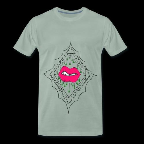 Gloopy Green - Men's Premium T-Shirt