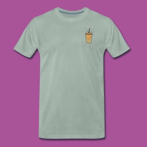 Oranger_Becher - Männer Premium T-Shirt