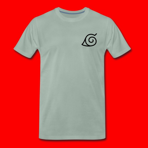 Simbolo konoha svg - Camiseta premium hombre