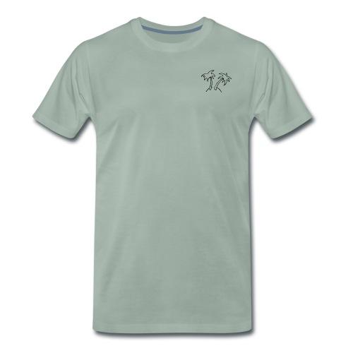 LostIsland ~ Palme - Männer Premium T-Shirt