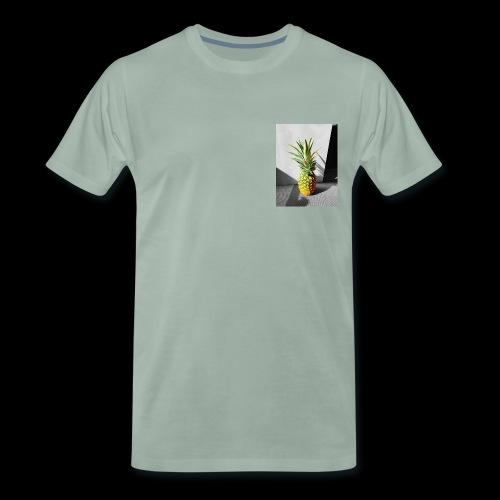 Ananas colorless X colorful - Männer Premium T-Shirt