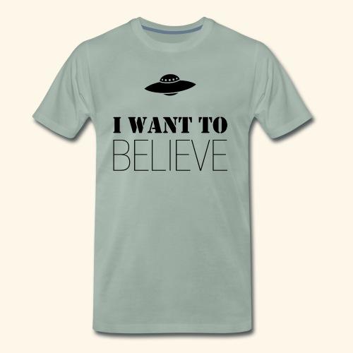 I Want To Believe - Camiseta premium hombre