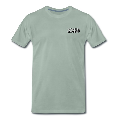 #CouplaVloggers - Men's Premium T-Shirt
