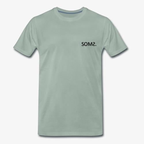 soms. - Mannen Premium T-shirt