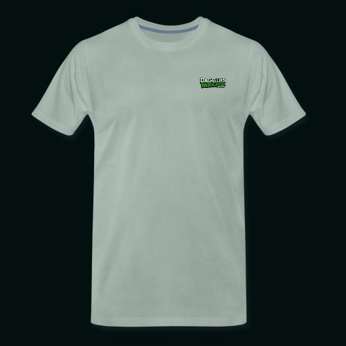 Dagelijkse Berichten Tshirt Logo v1 - Mannen Premium T-shirt