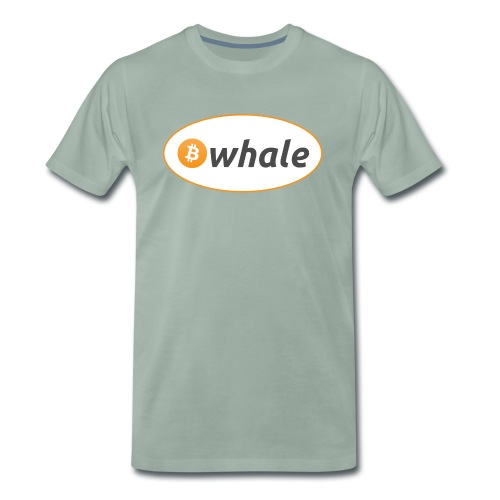 Bitcoin Whale - Men's Premium T-Shirt