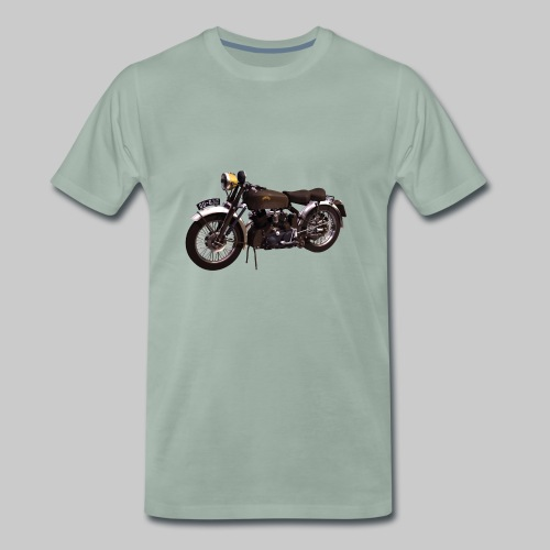 Black Shadow vintage motor bike - Men's Premium T-Shirt