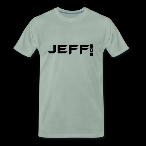 Jeff Bob Logo - Men's Premium T-Shirt