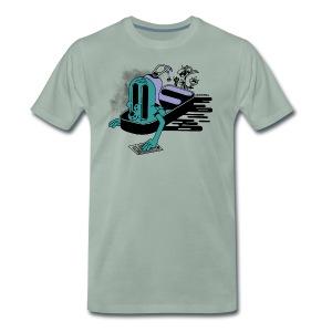 Always eat fresh - Mannen Premium T-shirt