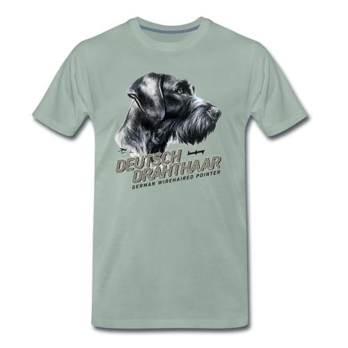 Deutsch Drahthaar Lieblingshund - Männer Premium T-Shirt