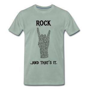 Rock e basta. - Maglietta Premium da uomo