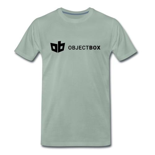 ObjectBox Black - Männer Premium T-Shirt