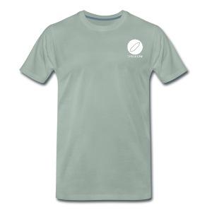 Crystal Cave Logo bianco - Maglietta Premium da uomo