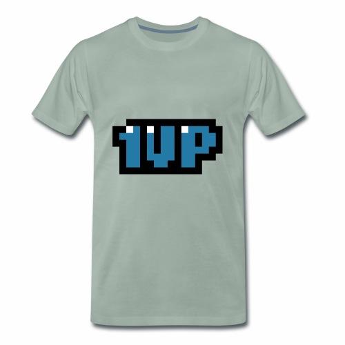1up bleu - T-shirt Premium Homme