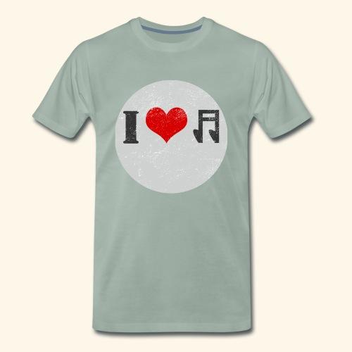 Ich liebe Musik Tees Gift - Männer Premium T-Shirt