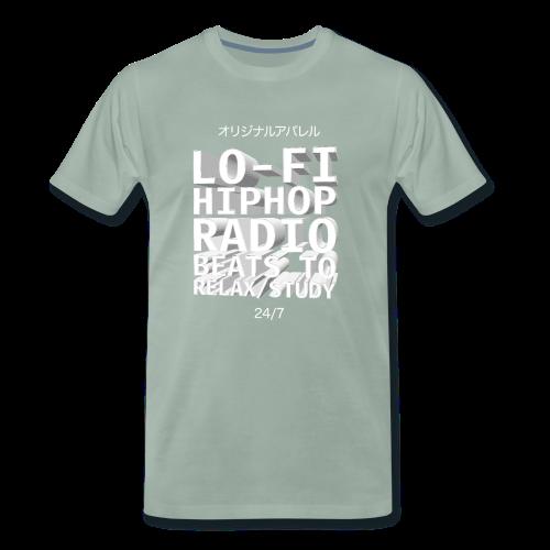 Vaporwave Hiphop Radio Beats - Männer Premium T-Shirt