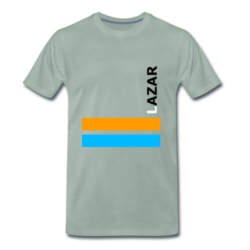 LAZAR - Männer Premium T-Shirt