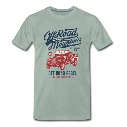 Off Road Jeep - Männer Premium T-Shirt