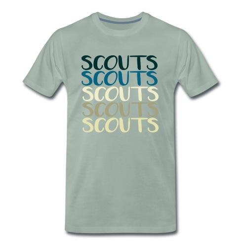 SCOUTS Typo Strandmix - Männer Premium T-Shirt