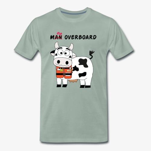 mucca nera - Maglietta Premium da uomo