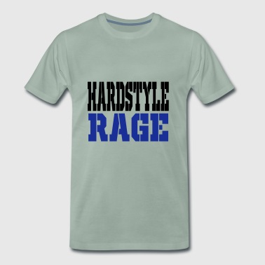 hardstyle rage - Men's Premium T-Shirt