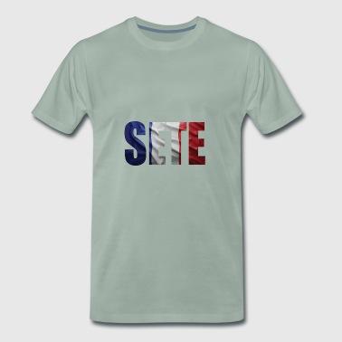 RANSKA SETE FL - Miesten premium t-paita