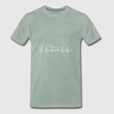 Un coeur pour les chats - T-shirt Premium Homme