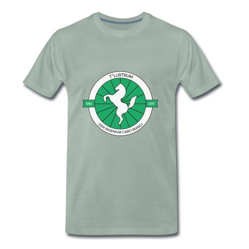7e lustrum der Ingenium Cabo Bianc - Mannen Premium T-shirt