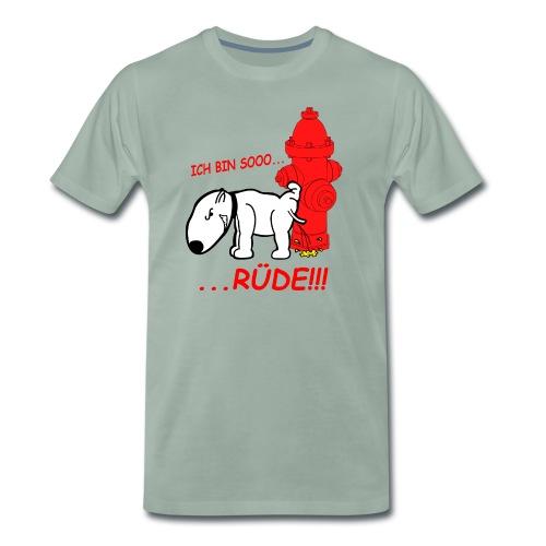 Rüden-Verhalten - Männer Premium T-Shirt
