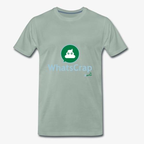 WhatsCrap #me2 - Männer Premium T-Shirt