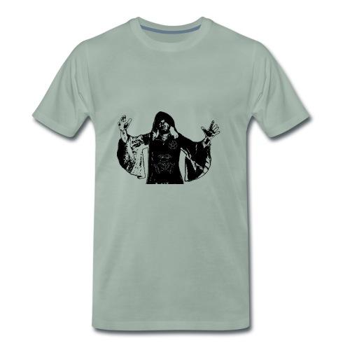 Druide Schwarz - Männer Premium T-Shirt