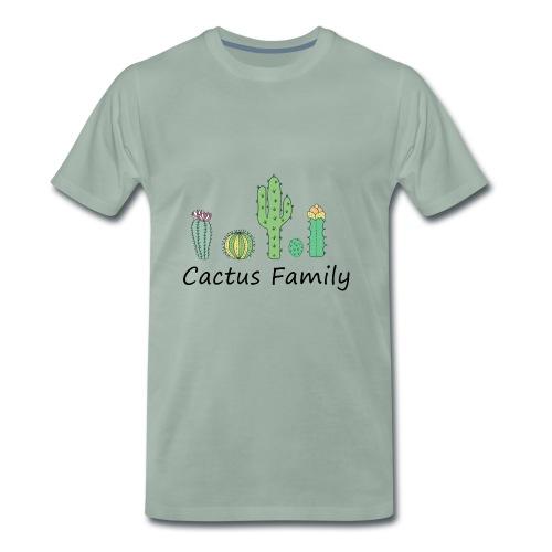 Cactus family - Männer Premium T-Shirt