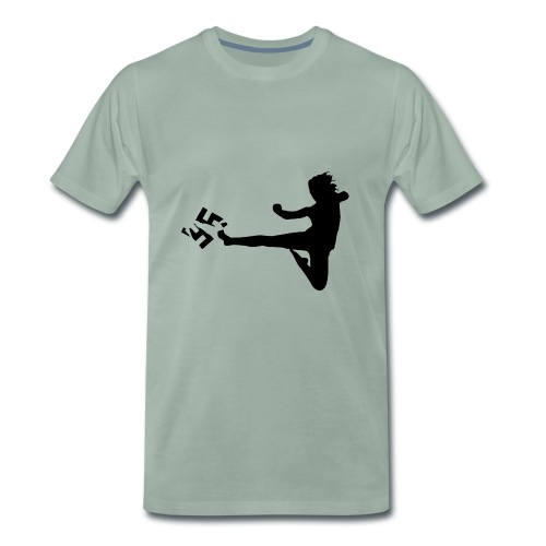 Gegen Rassismus - Männer Premium T-Shirt