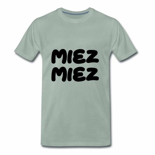 Miez Miez - frei veränderbar - als Vektor - Männer Premium T-Shirt