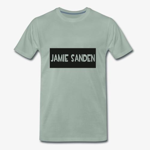 Jamie Sanden Text logo - Premium-T-shirt herr