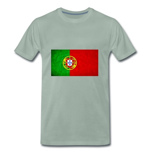 portugal flag - T-shirt Premium Homme