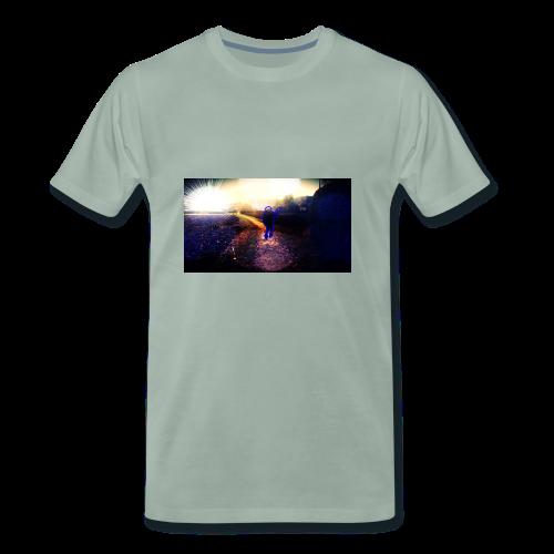 Hoodie Grau   Handyhülle samsung - Männer Premium T-Shirt