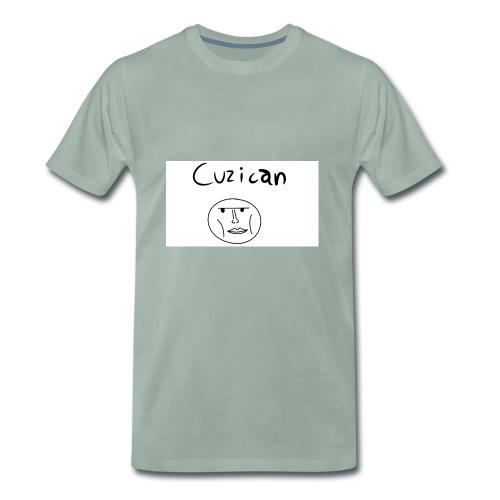 cuz iii cannn - Männer Premium T-Shirt