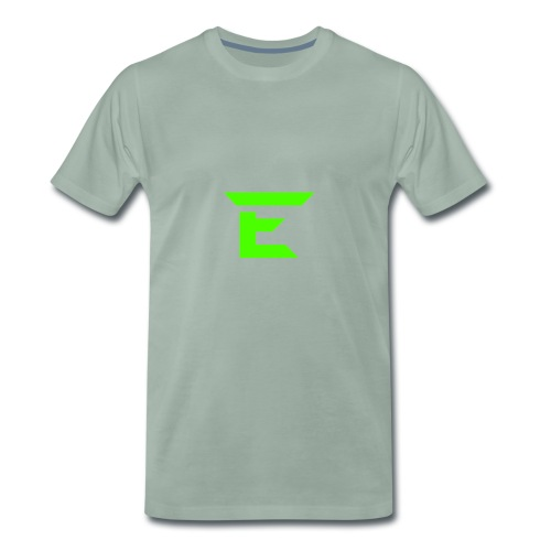 E for Emerald - Men's Premium T-Shirt