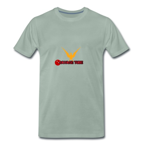 SAVAGE TUBE MERCH - Men's Premium T-Shirt